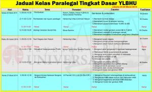 jadwal paralegal1